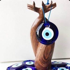 Evil Eye amulet 2pc  Protection Good Luck